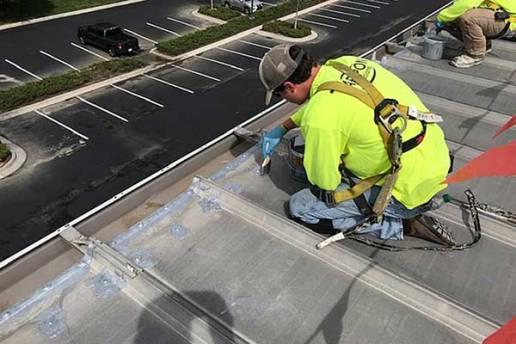Roof Restoration Seams